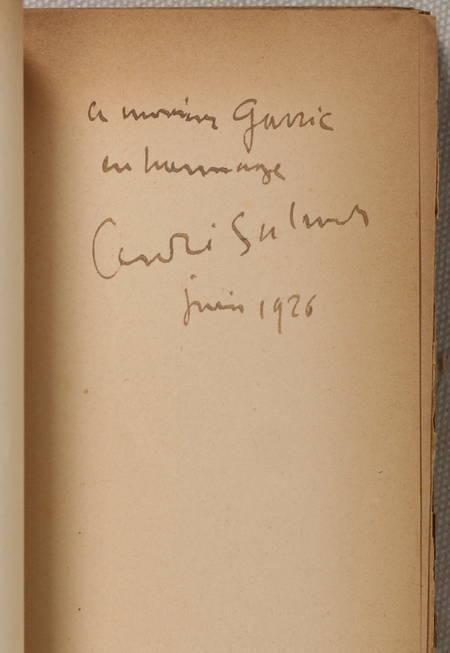 SALMON (André). Créances. 1905-1910. Les clés ardentes - Féeries - Le calumet