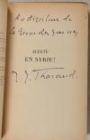 Jérôme et Jean THARAUD - Alerte en Syrie ! - 1937 - EO - Envoi - Photo 0, livre rare du XXe siècle