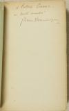 Pierre DOMINIQUE - Les mercenaires - 1925 - Envoi - Photo 0 - livre de bibliophilie