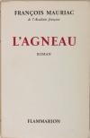 François MAURIAC - L agneau - 1954 - Sur Alfa - Photo 0 - livre de collection