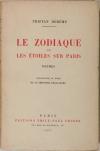DEREME - Le zodiaque ou les étoiles sur Paris. Poèmes - 1927 - 1/500 Alfa - Photo 0, livre rare du XXe siècle