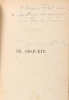 [Littérature] MAULVAULT - El Requeté - 1937 - Envoi - Photo 0, livre rare du XXe siècle