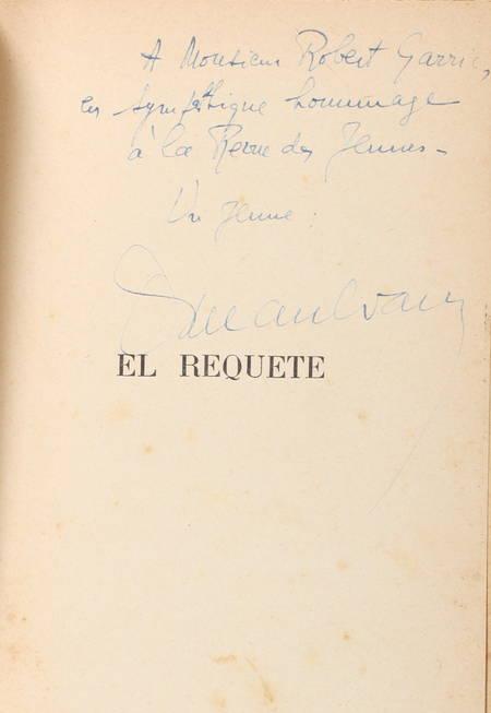 MAULVAULT (Lucien). El Requeté, livre rare du XXe siècle