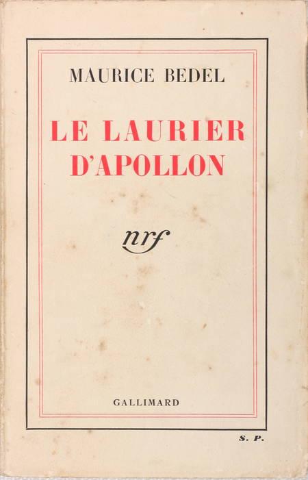 Maurice BEDEL - Le laurier d'Apollon - 1936 - Envoi - Service de presse - Photo 1 - livre de bibliophilie