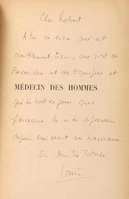 CHANTEREAU (Luc). Médecin des hommes