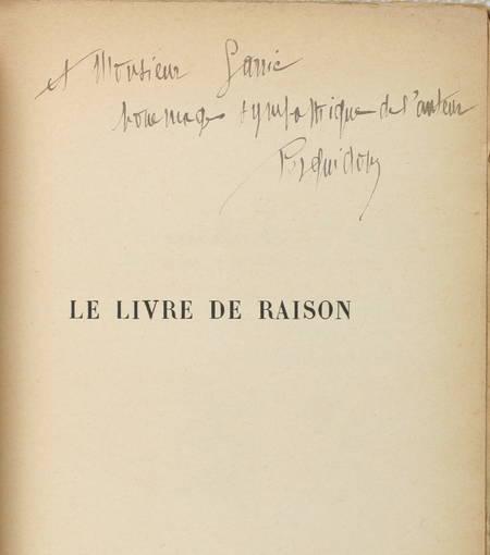 Joseph de PESQUIDOUX - Le Livre de raison - 2e série - 1928 - Envoi - Photo 0 - livre d'occasion