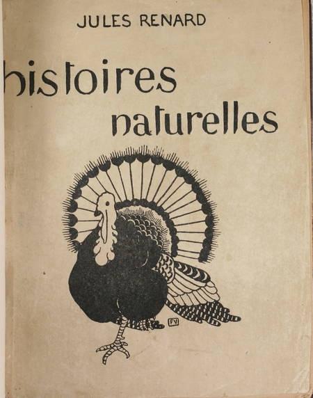 RENARD (Jules). Histoires naturelles