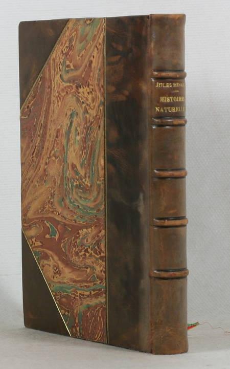 RENARD - Histoires naturelles - 1896 - EO - 2 Bois de Félix Vallotton - Photo 1 - livre rare