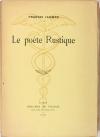 JAMMES - Le poète rustique - 1920 - 1/467 sur Hollande van Gelder - Photo 0, livre rare du XXe siècle