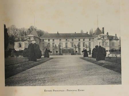 BOURGUIGNON (Jean). Ancien palais de Malmaison, livre rare du XXe siècle