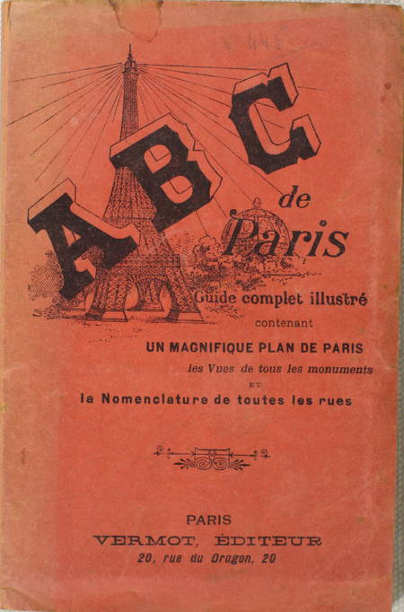 ABC de Paris. Guide complet illustré avec magnifique plan de Paris - (1897) - Photo 0 - livre de bibliophilie