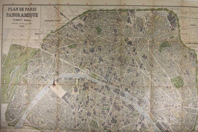 ABC de Paris. Guide complet illustré avec magnifique plan de Paris - (1897) - Photo 1 - livre rare