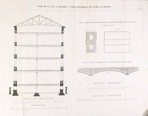 HODGKINSON et FAIRBAIRN - La fonte de fer - 1857 - Photo 1 - livre d'occasion