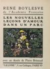 BOYLESVE - Les nouvelles leçons d amour dans un parc - 1924 - EO - Photo 0, livre rare du XXe siècle