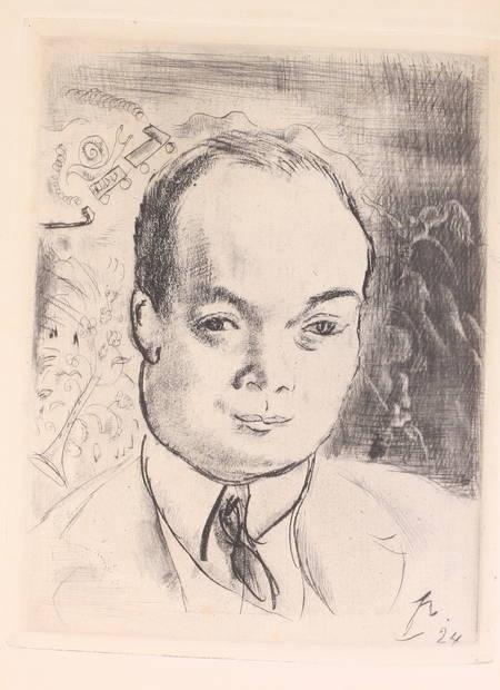 DEREME - L'enlèvement sans clair de lune - 1924 - Portrait sur cuivre par Pascin - Photo 0 - livre de bibliophilie