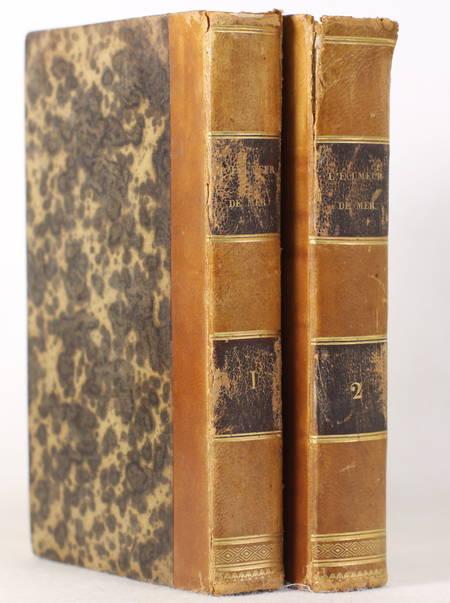 FENIMORE COOPER (J.). L'écumeur de mer, ou la sorcière des eaux, roman américain, livre rare du XIXe siècle