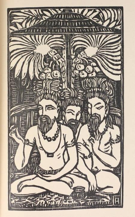 [Inde] Sylvain Lévy - La légende de Nala et Damayanti - 1920 - Photo 1 - livre de collection