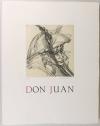 Roger Louis CHAVANON - Don juan -  Dessin original - 1982 - Gravures signées - Photo 0, livre rare du XXe siècle