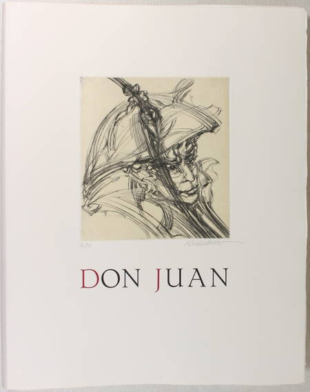 FESSARD de FOUCAULT (Bertrand). Don Juan. Essai de Bertrand Fessard de Foucault, livre rare du XXe siècle