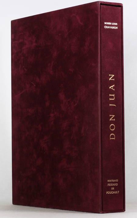 Roger Louis CHAVANON - Don juan - Dessin original - 1982 - Gravures signées - Photo 1 - livre de bibliophilie