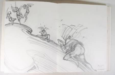 Roger Louis CHAVANON - Don juan - Dessin original - 1982 - Gravures signées - Photo 2 - livre de collection