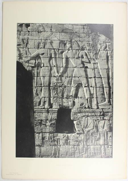 JEQUIER - Temples ramessides et saïtes des XIXe à la XXXe dynastie - 1920 - Photo 2 - livre d'occasion