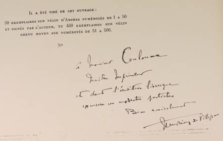 Jean de VILLEJEAN - Le chemin de fer romantique - 1827-1927 - Photo 3 - livre de bibliophilie
