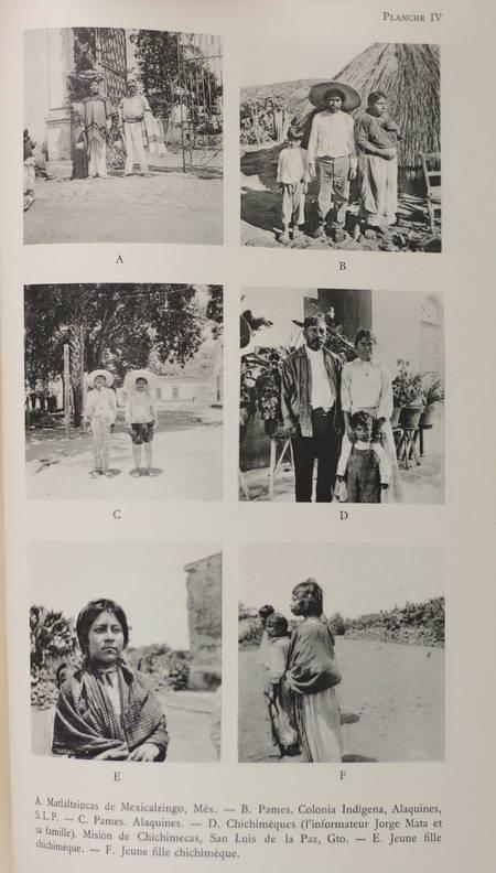 SOUSTELLE (Jacques). La famille Otomi-Pame du Méxique central, livre rare du XXe siècle