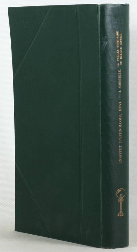 SOUSTELLE - La famille Otomi du Méxique central -1937 - Photo 1 - livre rare
