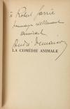 DEMAISON - La comédie animale - 1930 - Envoi de l auteur - Photo 0, livre rare du XXe siècle