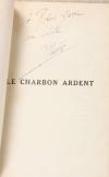 THERIVE - Le charbon ardent - 1929 - Envoi de l auteur - Photo 0, livre rare du XXe siècle
