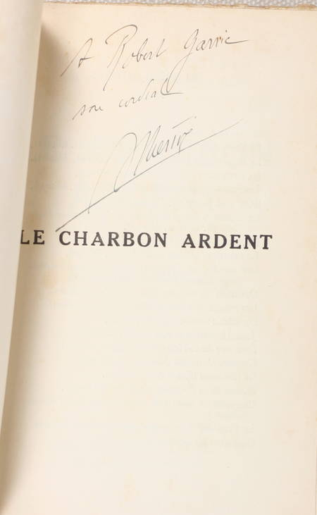 THERIVE (André). Le charbon ardent