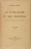 JAMMES - Le patriarche et son troupeau. Propos sur la poésie - 1948 - Photo 0, livre rare du XXe siècle