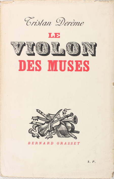 DEREME - Le violon des muses - 1935 - Envoi - Exemplaire du service de presse - Photo 1 - livre de bibliophilie