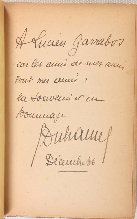 DUHAMEL (Georges). Journal de Salavin