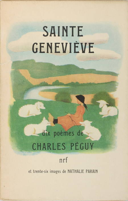 PEGUY (Charles). Sainte Geneviève. Dix poèmes
