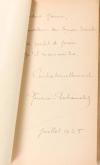 G. DUHAMELET - Rue du chien qui pêche - 1924 - Envoi de l auteur - Photo 0, livre rare du XXe siècle