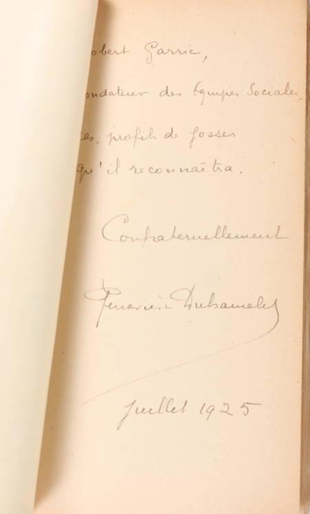 G. DUHAMELET - Rue du chien qui pêche - 1924 - Envoi de l'auteur - Photo 0 - livre moderne