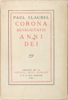 CLAUDEL - Corona benignitatis anni dei - 1915 - EO - Photo 0, livre rare du XXe siècle