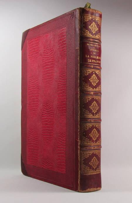 DE MILLEVILLE (Henry J.-G.). Armorial historique de la noblesse de France