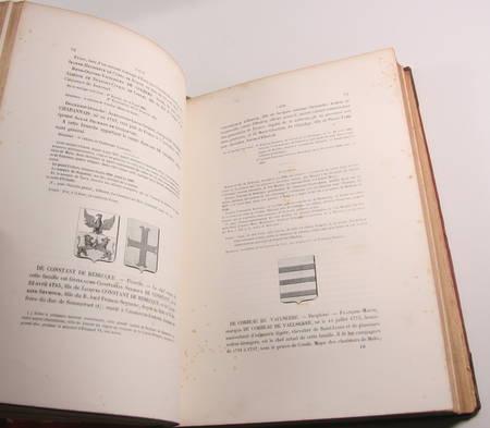 DE MILLEVILLE - Armorial historique de la noblesse de France - 1845 - Photo 1 - livre d'occasion