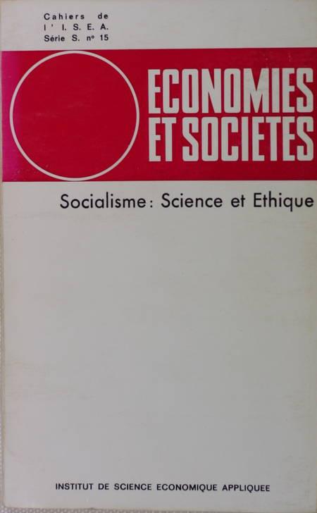 . Socialisme : Science et éthique