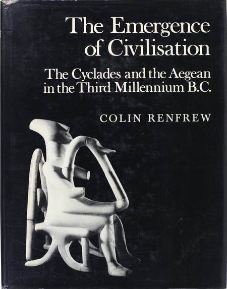 RENFREW - The Cyclades and the Aegean (3000 B. C.) - 1972 - Photo 0 - livre du XXe siècle
