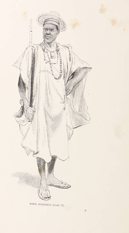 [Afrique] Félix DUBOIS - La vie du continent noir - Hetzel - (Vers 1893) - Photo 2 - livre du XIXe siècle