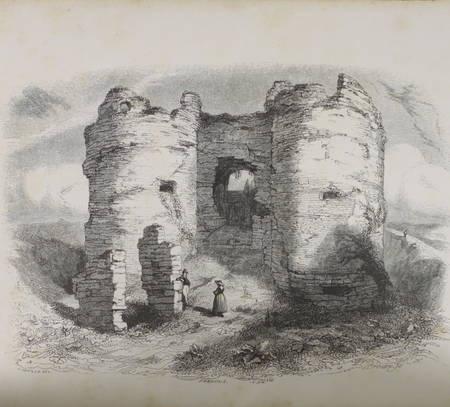 DEVILLE (A.). Histoire du château d'Arques, livre rare du XIXe siècle