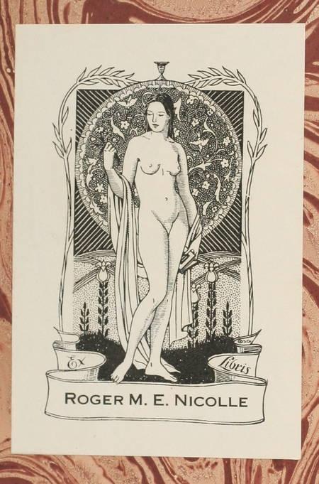 GIDE - Les faux-monnayeurs - 1925 - Relié - Ex-libris - Service de presse - Photo 1 - livre de collection