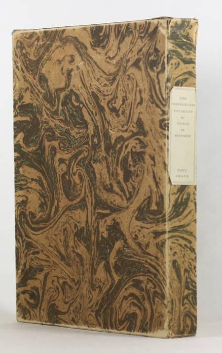 Paul Chack - Les prodigieuses batailles du bailli de Suffren - 1944 - Gravures - Photo 1 - livre du XXe siècle