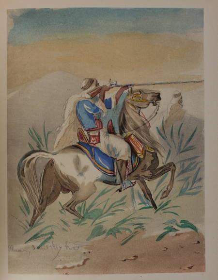 AZAN - L'armée d'Afrique de 1830 à 1852 - 1936 - 62 planches + 3 cartes - Photo 0 - livre d'occasion