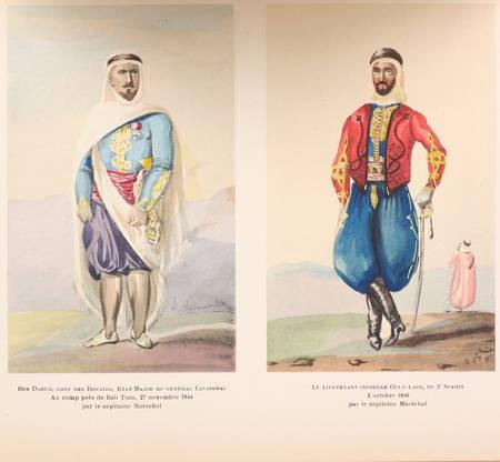 AZAN - L'armée d'Afrique de 1830 à 1852 - 1936 - 62 planches + 3 cartes - Photo 2 - livre d'occasion