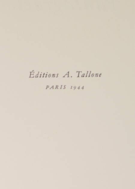 [Typographie] Pantagruel - Tallone - 1944 - Photo 0 - livre rare